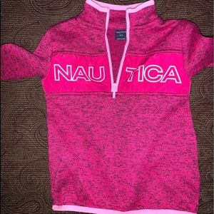 Hot pink pull over